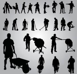 lavoratore-silhouette--vettore_18-6116
